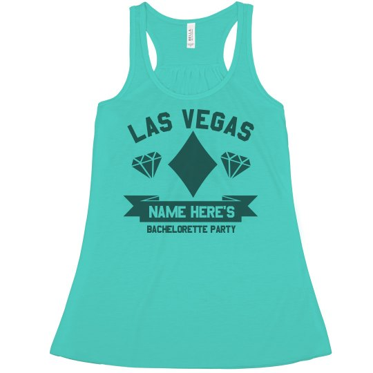 Custom Bachelorette Las Vegas Tank