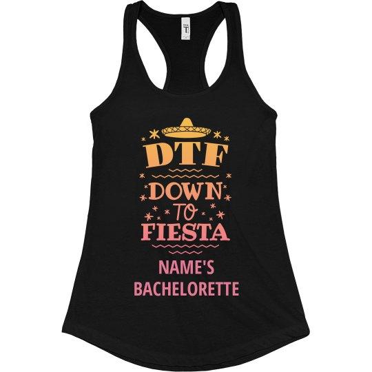Custom Bachelorette Party DTF