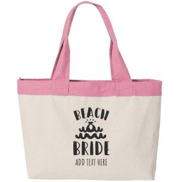 Custom Beach Bag Tote