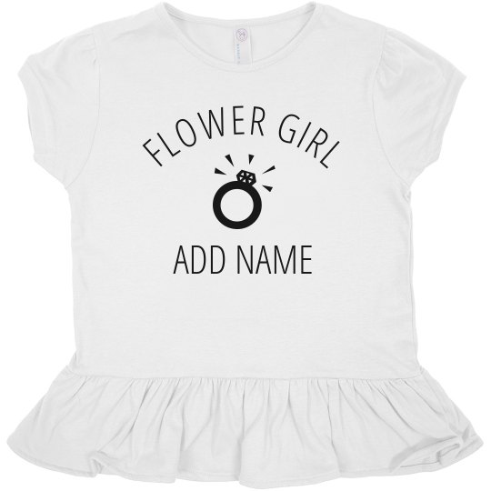 Custom Bridal Flower Girl