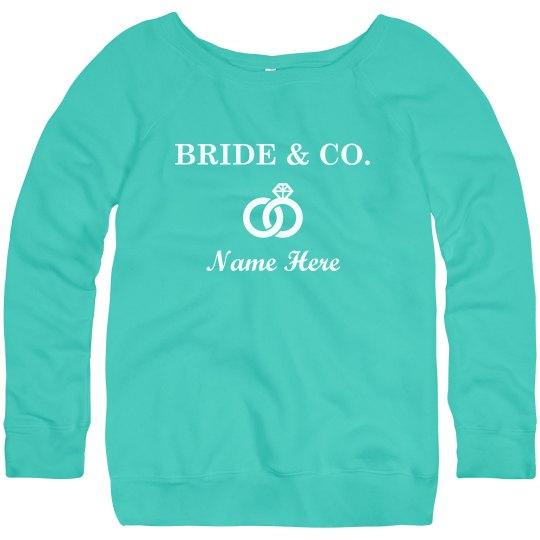 Custom Bride And Co Rings
