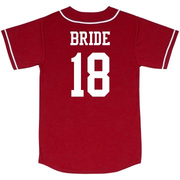 Custom Bride To Be Year Jersey