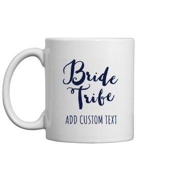 Custom Bride Tribe Bridal Party Gift