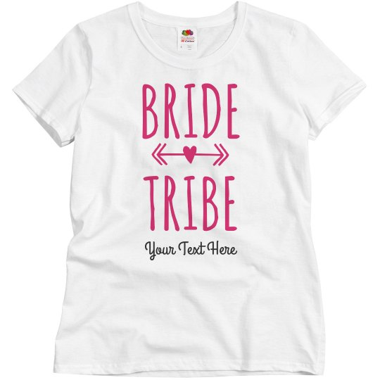 Custom Bride Tribe for the Bachelorette Party