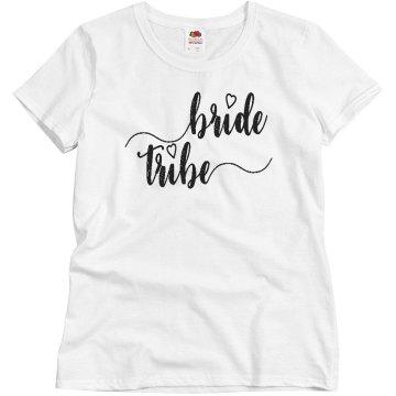 Custom Bride Tribe Tshirt