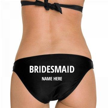 Custom Bridemaid Shell Bikini