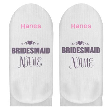 Custom Bridesmaid Name Gift