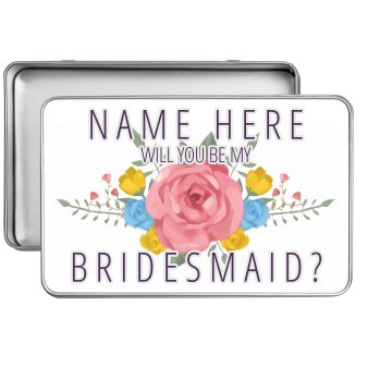 Custom Bridesmaid Proposal Tin