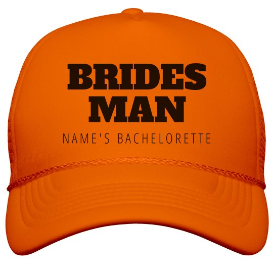Custom Bridesman Group Hats