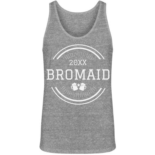 Custom Bromaid Bachelor Party Tank