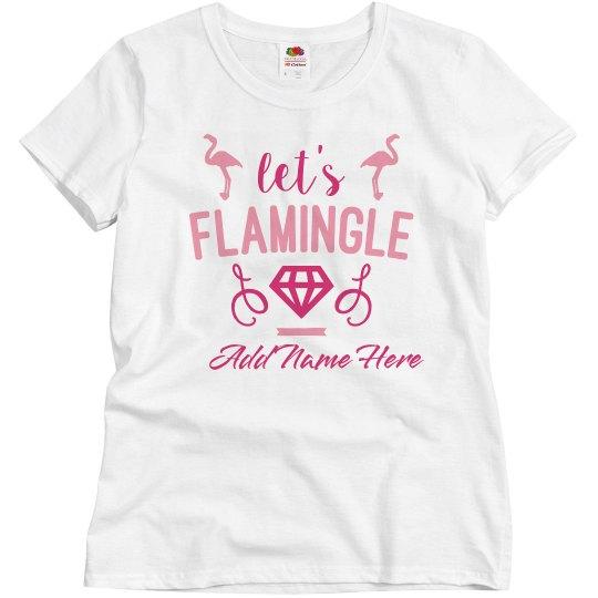 Custom Flamingle Bachelorette Party