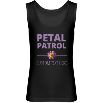 Custom Flower Girl Petal Patrol