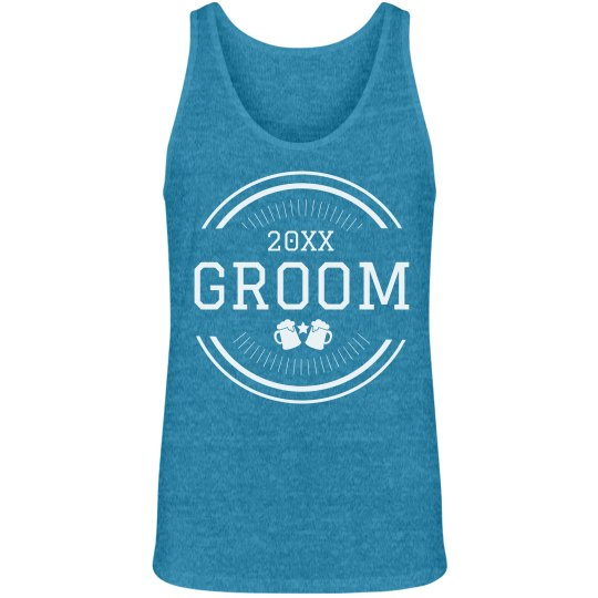 Custom Groom Bachelor Party Tank
