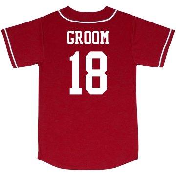 Custom Groom Jersey