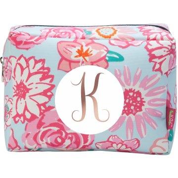 Custom Initial Cosmetic Bag