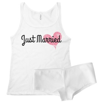 Custom Just Married I'm His Wife