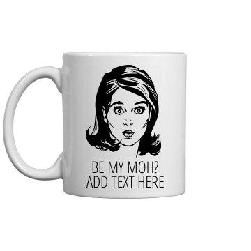 Custom Maid Of Honor Gift