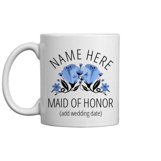 Custom Maid Of Honor Proposal Mug