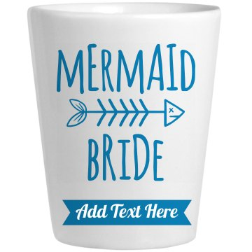 Custom Mermaid Bride Tribe Shot