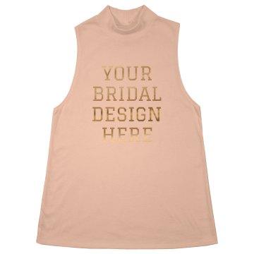 Custom Metallic Bridal Design