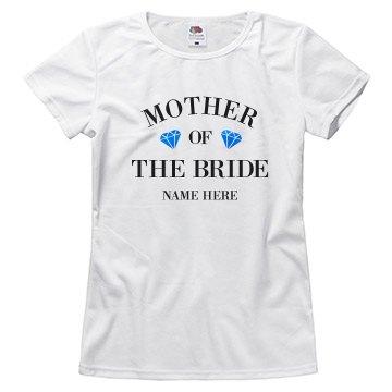 Custom Metallic Mother Of The Bride
