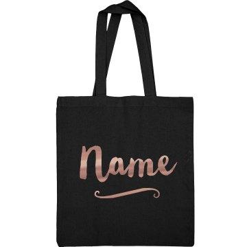Custom Metallic Name Bridesmaid