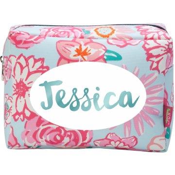 Custom Monogram Cosmetic Bag