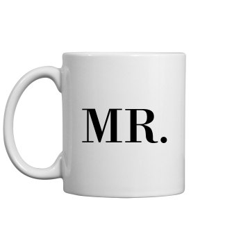 Custom Mr Just Married