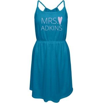 Custom Mrs. Heart