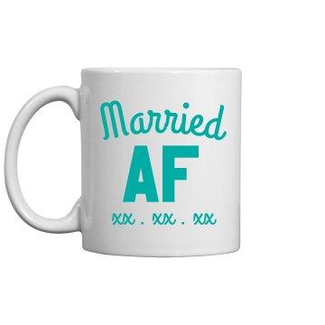 Custom Mug Married AF