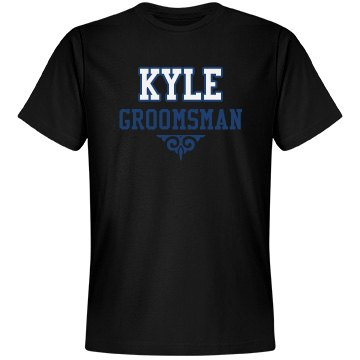 Custom Name Groomsman