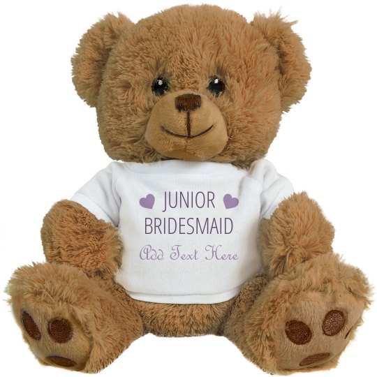 Custom Name Junior Bridesmaid