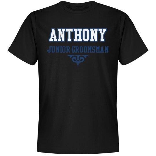 Custom Name Junior Groom