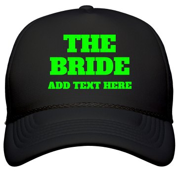 Custom Name Neon Bride