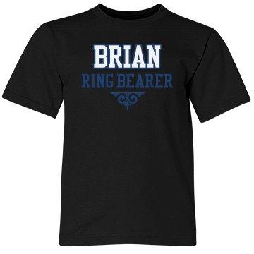 Custom Name Ring Bearer