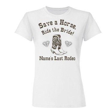 Custom Name Save A Horse