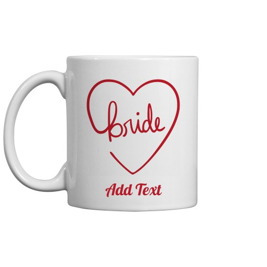 Custom Name With Bride Script