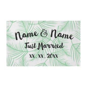 Custom Names Just married