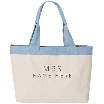Custom New Mrs Name