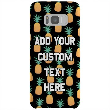 Custom Pineapple Phone Case