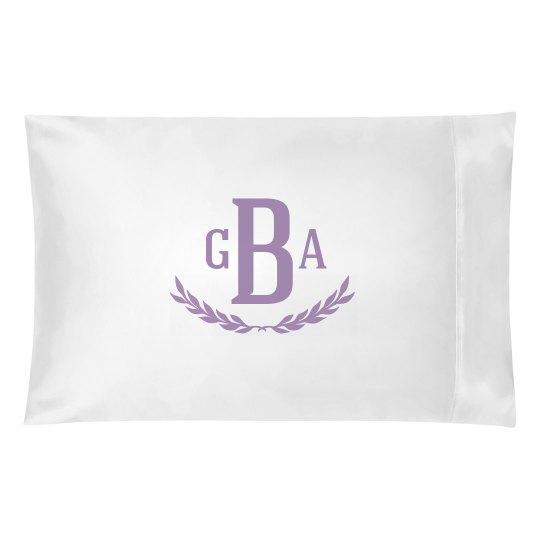 Custom Purple Monogram