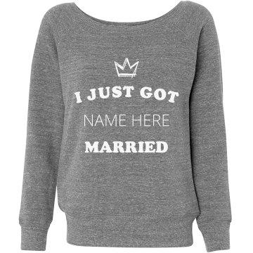 Custom Queen Just Got Married