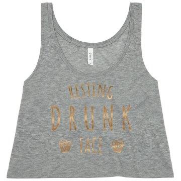 Custom Resting Drunk Face Bachelorette