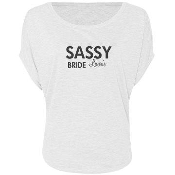 Custom Sassy Bride