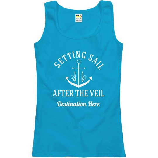Custom Setting Sail Honeymoon