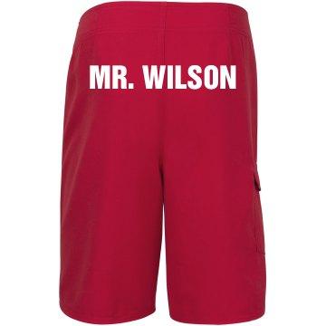 Custom Swimwear Groom