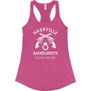 Custom Tank Nashville Bachelorette