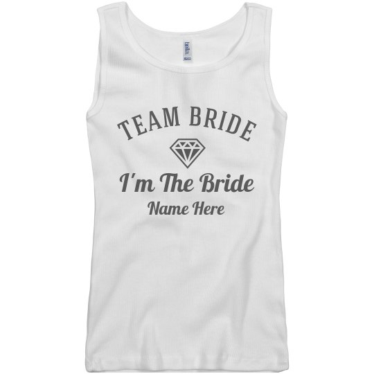 Custom Team Bride Design