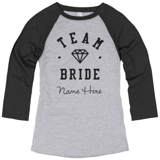 Custom Team Bride Diamond
