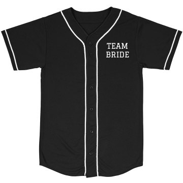 Custom Team Bride Jersey